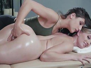 Abella Danger, Riley Reyes - Whoops! My knuckle glided in!