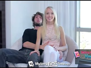 MyVeryFirstTime - Sierra Nevadah lets her guy screw her booty for very first time